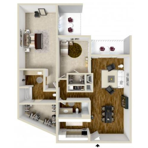 Floor Plan 10 | Woodstream Village