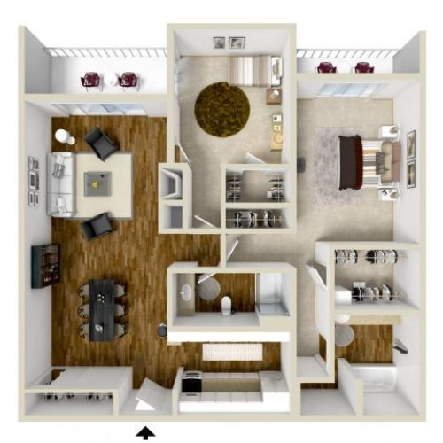 Floor Plan 12 | Woodstream Village