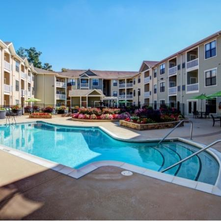 Sparkling Pool | Raleigh Apartments | NorthCity 6