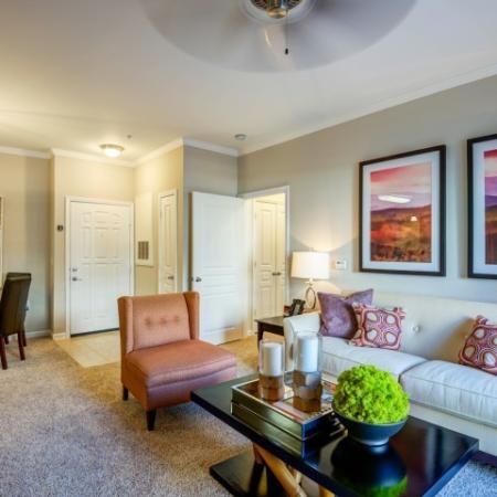 Elegant Living Room | Raleigh Apartments | NorthCity 6