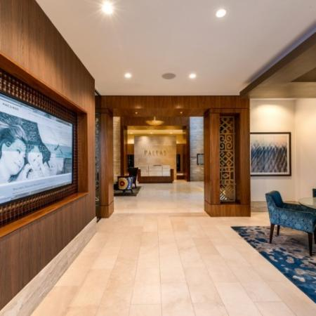 Community Media Room | Bethesda Apartments | Pallas at PikeRose