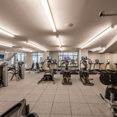 Cutting Edge Fitness Center | Apartments in Bethesda MD | Pallas at PikeRose