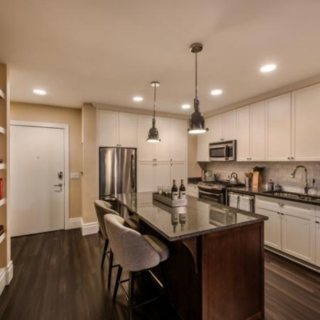 Elegant Kitchen | Apartments North Bethesda | Pallas at PikeRose