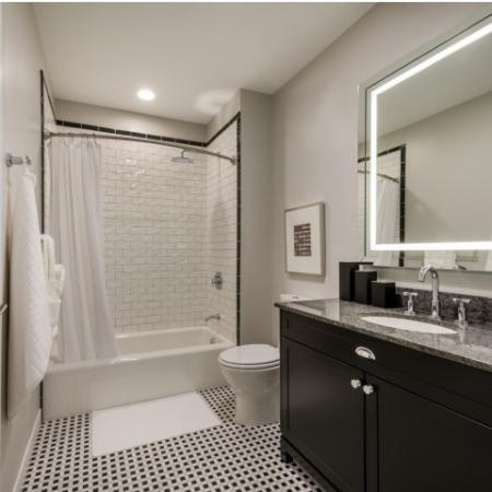 Elegant Bathroom | Apartments North Bethesda | Pallas at PikeRose
