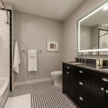 Luxurious Bathroom | Apartments For Rent In North Bethesda MD | Pallas at PikeRose