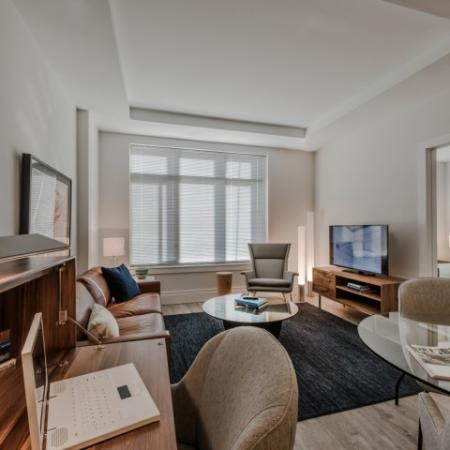 Spacious Living Room | Apartments North Bethesda | Pallas at PikeRose