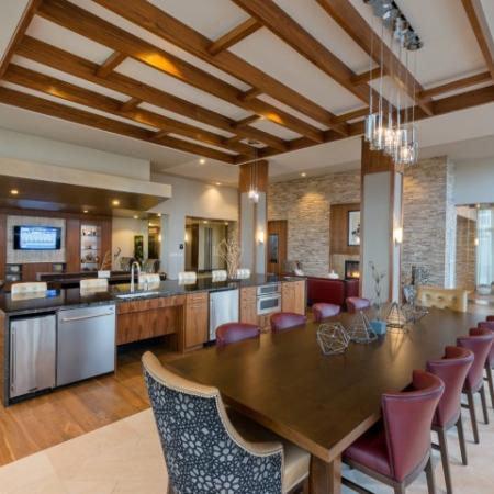 Luxurious Dining Room | Apartments Bethesda MD | Pallas at PikeRose