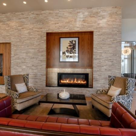 Elegant Living Area | Bethesda Apartments | Pallas at PikeRose