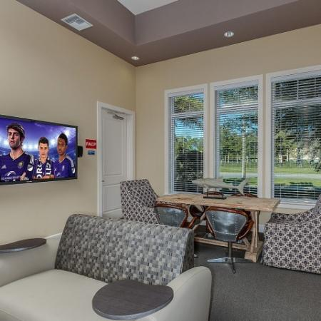 Elegant Resident Club House | One Bedroom Apartments In Orlando FL |
