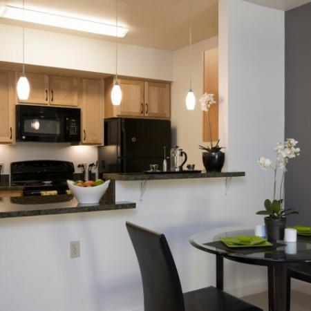 Elegant Kitchen | Apartments In Eugene Oregon | Crescent Village East