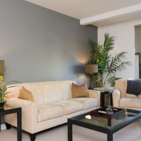 Luxurious Living Room | Apartments Eugene Oregon | Crescent Village East