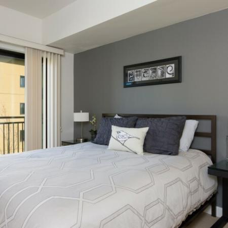 Elegant Bedroom | Eugene Apartments For Rent | Crescent Village East