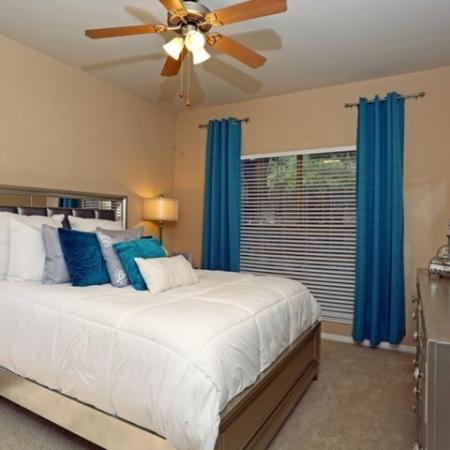 Spacious Bedroom | Austin TX Apartments | The Village at Gracy Farms
