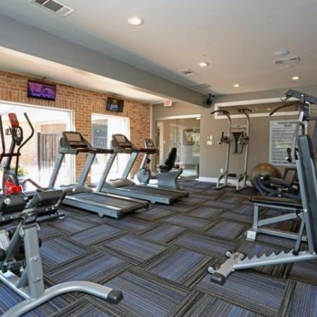 Cutting Edge Fitness Center | Austin Apartments | The Village at Gracy Farms