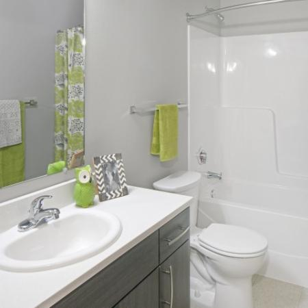 Bathroom at Tennyson at Crescent Village