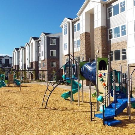 Resident Children's Playground | Apartments For Rent Sandy Utah | Rockledge at Quarry Bend