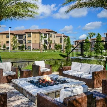 Lounging Area | Luxury Apartments In Orlando Florida | Sanctuary at Eagle Creek