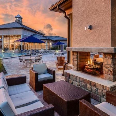 Pool Side |Luxury Apartments In Orlando Florida | Sanctuary at Eagle Creek