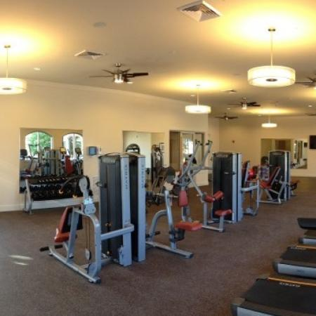 Cutting Edge Fitness Center | Pet Friendly Apartments Orlando | Sanctuary at Eagle Creek