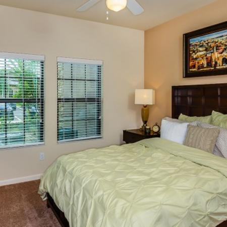 Elegant Bedroom | Apartments For Rent In Orlando FL | Sanctuary at Eagle Creek