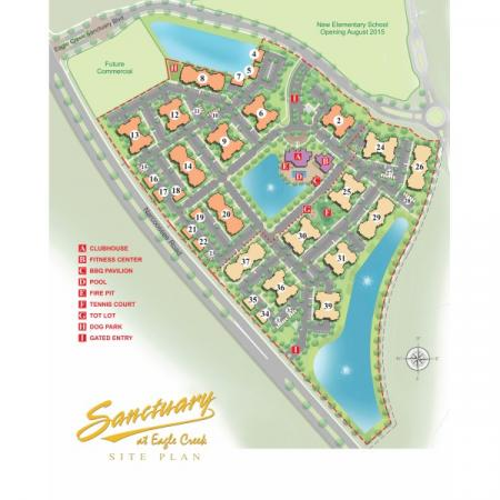 Site Map | Orlando Apartments | Sanctuary at Eagle Creek