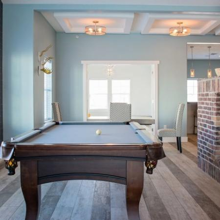 Community Pool Table | Apartments For Rent Sandy Utah | Rockledge at Quarry Bend