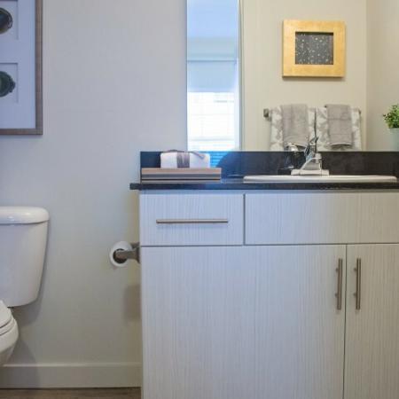 Modern Bathroom | Apartments For Rent Sandy Utah | Rockledge at Quarry Bend