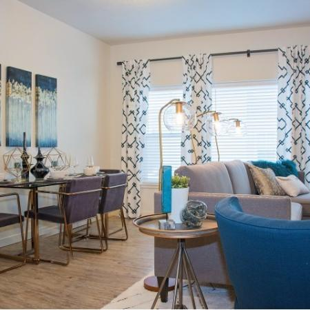 Spacious Living Area | Apartments in Sandy Utah | Rockledge at Quarry Bend