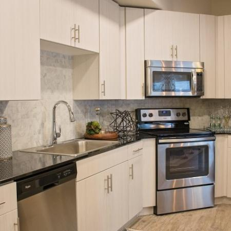Modern Kitchen | Apartments For Rent Sandy Utah | Rockledge at Quarry Bend