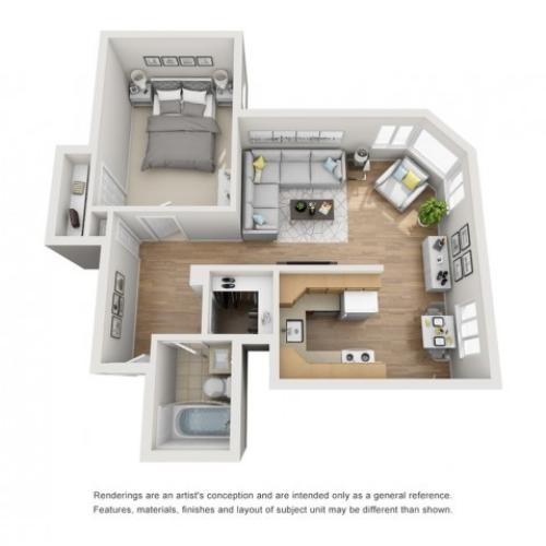 Floor Plan 8 | Park Plaza