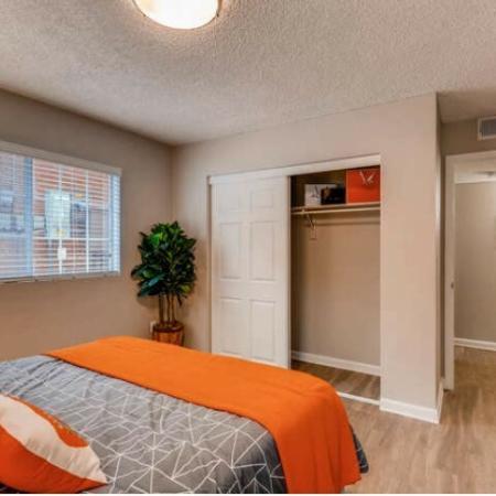 Elegant Bedroom | Westminster CO Apartment For Rent | Village Creek Apartments