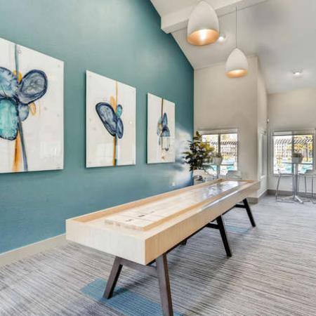 Resident Game Room | Apartments in Denver, CO | The Lodge Apartment Homes
