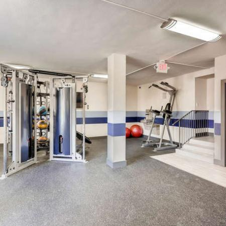 State-of-the-Art Fitness Center | Apartment Homes in Denver, CO | The Lodge Apartment Homes