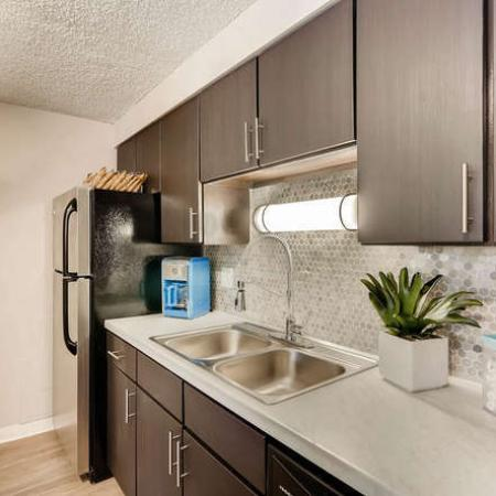 Modern Kitchen | Denver CO Apartment For Rent | The Lodge Apartment Homes