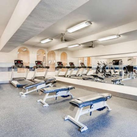 Resident Fitness Center | Apartments Denver, CO | The Lodge Apartment Homes