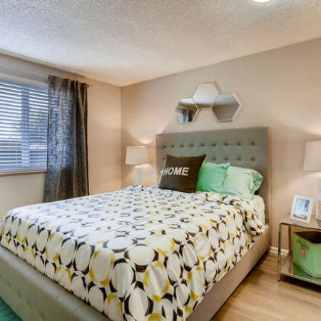 Spacious Bedroom | Denver CO Apartment Homes | The Lodge Apartment Homes