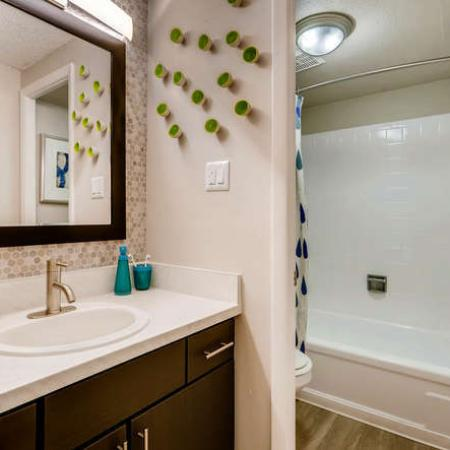 Spacious Bathroom | Denver CO Apartment For Rent | The Lodge Apartment Homes