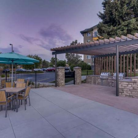Resident BBQ | Apartments in Denver, CO | The Lodge Apartment Homes