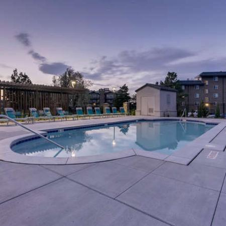 Sparkling Pool | Apartments for rent in Denver, CO | The Lodge Apartment Homes