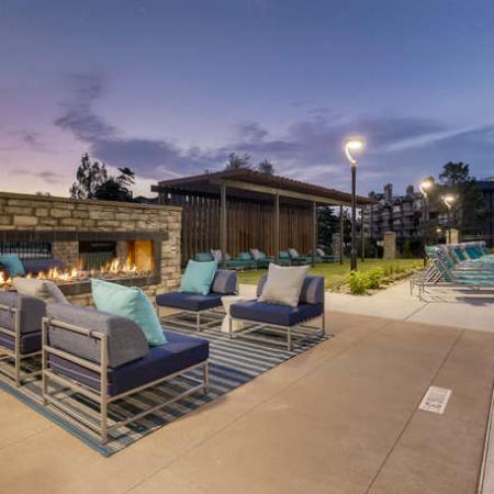 Resident Fire Pit | Apartments Homes for rent in Denver, CO | The Lodge Apartment Homes