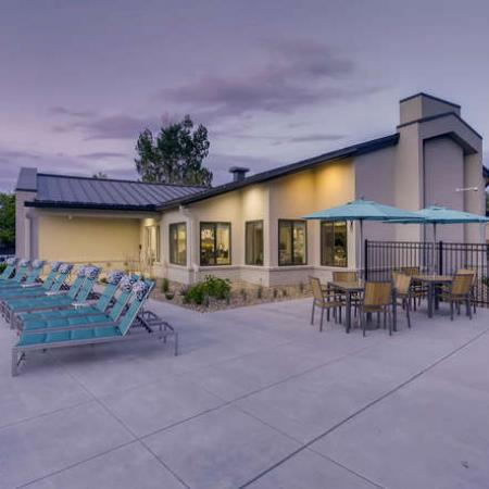 Resident Sun Deck | Denver CO Apartment For Rent | The Lodge Apartment Homes