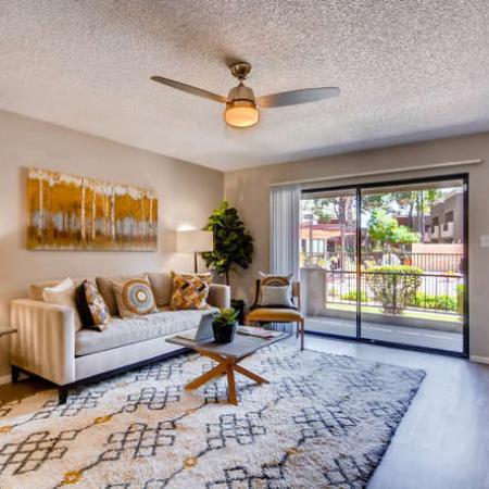 Elegant Living Room | Apartments for rent in Phoenix, AZ | Rockledge Fairways Apartments