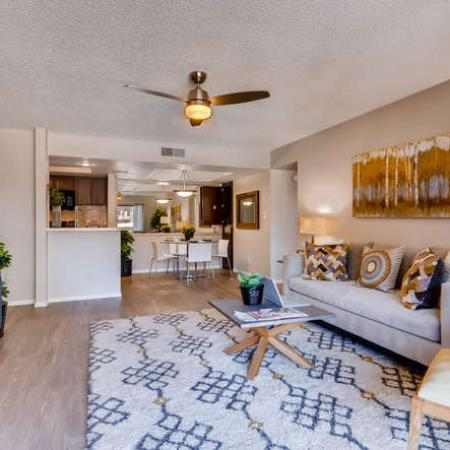 Spacious Living Room | Apartments in Phoenix, AZ | Rockledge Fairways Apartments
