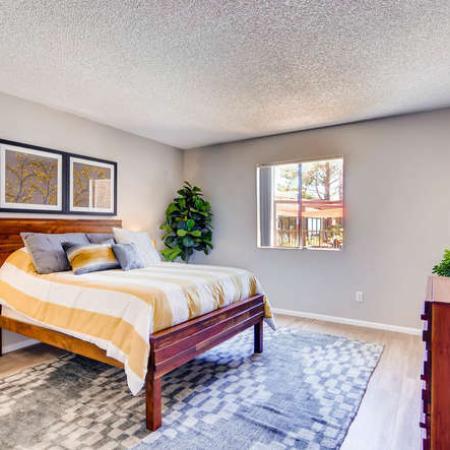 Elegant Bedroom | Phoenix AZ Apartment For Rent | Rockledge Fairways Apartments