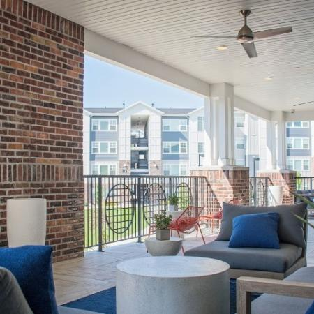 Resident Patio | Apartments Sandy Utah | Rockledge at Quarry Bend