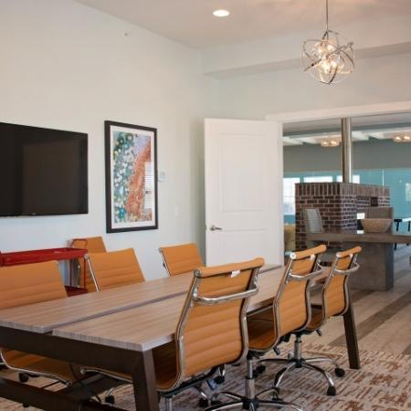 Resident Meeting Room | Apartments For Rent Sandy Utah | Rockledge at Quarry Bend