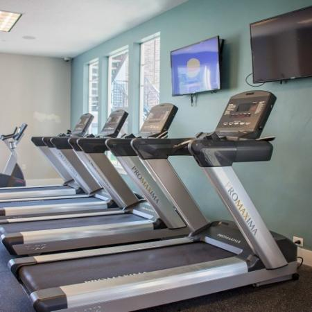 Cardio Fitness Area | Apartments For Rent Sandy Utah | Rockledge at Quarry Bend