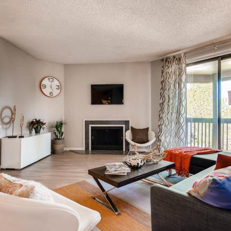 Beautiful Living Room | Apartments in Denver CO | Alta Springs Apartments
