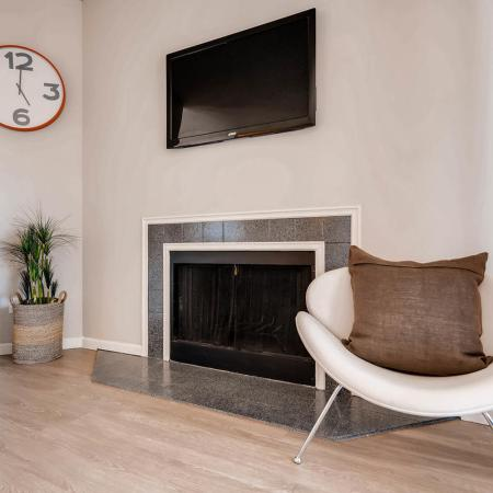 Luxury Fireplace | Apartments in Denver CO | Alta Springs Apartments