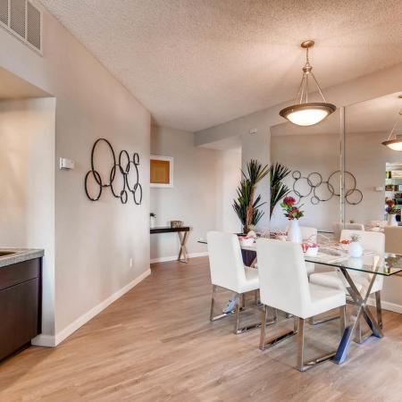 Beautiful Dining Area | Apartments in Denver CO | Alta Springs Apartments